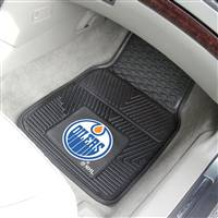 "NHL - Edmonton Oilers 2-pc Vinyl Car Mat Set 17""x27"""