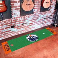 Edmonton Oilers Putting Green Mat