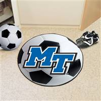 "Middle Tennessee State University Soccer Ball Mat 27"" diameter"