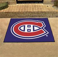"Montreal Canadiens All-Star Mat 34""x45"""