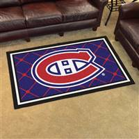 Montreal Canadiens 4x6 Area Rug