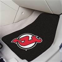New Jersey Devils 2-pc Printed Carpet Car Mat Set