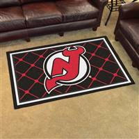 New Jersey Devils 4x6 Area Rug