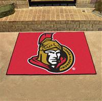 "Ottawa Senators All-Star Mat 34""x45"""