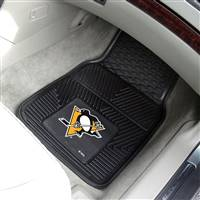 "NHL - Pittsburgh Penguins 2-pc Vinyl Car Mat Set 17""x27"""