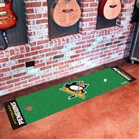 "NHL - Pittsburgh Penguins Putting Green Mat 18""x72"""
