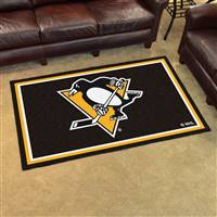 "NHL - Pittsburgh Penguins 4x6 Rug 44""x71"""
