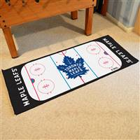 "Toronto Maple Leafs NHL Rink Runner Mat, 30""x72"""