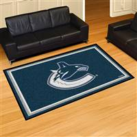 Vancouver Canucks 5x8 Area Rug