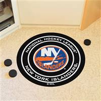 "New York Islanders Puck Mat, 29"" Diameter"