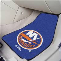 New York Islanders 2-pc Printed Carpet Car Mat Set