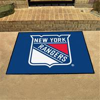 "New York Rangers All-Star Mat 34""x45"""