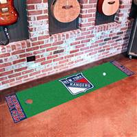 New York Rangers Putting Green Mat