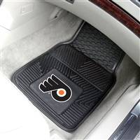 "NHL - Philadelphia Flyers 2-pc Vinyl Car Mat Set 17""x27"""