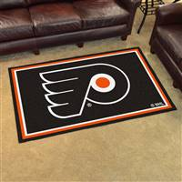 Philadelphia Flyers 4x6 Area Rug