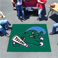 "Tulane Green Wave Tailgater Rug 60""x72"""