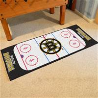 "Boston Bruins NHL Rink Runner Mat, 30""x72"""