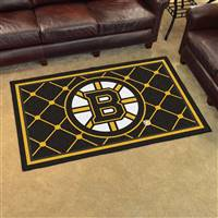 Boston Bruins 4x6 Area Rug