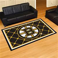 Boston Bruins 5x8 Area Rug