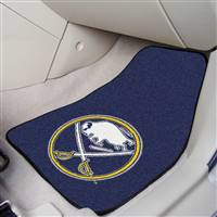 Buffalo Sabres 2-pc Printed Carpet Car Mat Set