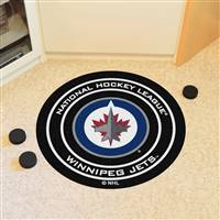 "NHL - Winnipeg Jets Puck Mat 27"" diameter"