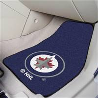 "NHL - Winnipeg Jets 2-pc Carpet Car Mat Set 17""x27"""