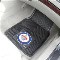 "NHL - Winnipeg Jets 2-pc Vinyl Car Mat Set 17""x27"""