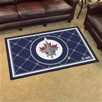 "NHL - Winnipeg Jets 4x6 Rug 44""x71"""