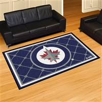 "NHL - Winnipeg Jets 5x8 Rug 59.5""x88"""