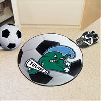 "Tulane University Soccer Ball Mat 27"" diameter"