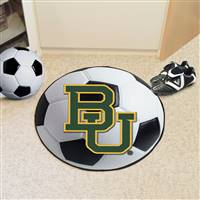 "Baylor Bears Soccer Ball Rug 29"" Diameter"