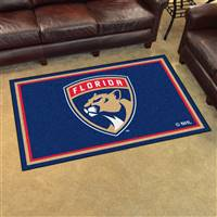 "NHL - Florida Panthers 4x6 Rug 44""x71"""