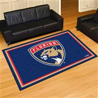 Florida Panthers 5x8 Area Rug