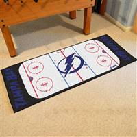 "Tampa Bay Lightning NHL Rink Runner Mat, 30""x72"""