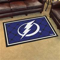 Tampa Bay Lightning 4x6 Area Rug