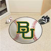 "Baylor University Baseball Mat 27"" diameter"