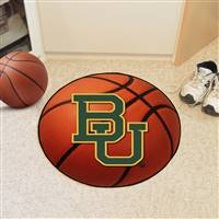 "Baylor Bears Basketball Rug 29"" Diameter"