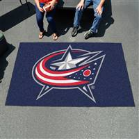 "Columbus Blue Jackets Ulti-Mat 60""x96"""