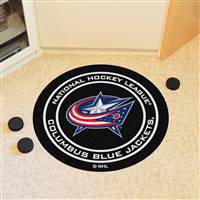"Columbus Blue Jackets Puck Mat, 29"" Diameter"