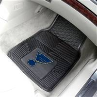 "NHL - St. Louis Blues 2-pc Vinyl Car Mat Set 17""x27"""