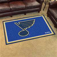 "NHL - St. Louis Blues 4x6 Rug 44""x71"""