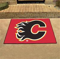 "Calgary Flames All-Star Mat 34""x45"""