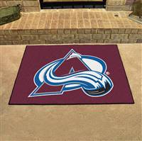 "Colorado Avalanche All-Star Mat, 34"" x 45"""