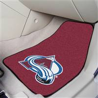 "NHL - Colorado Avalanche 2-pc Carpet Car Mat Set 17""x27"""