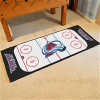 "Colorado Avalanche NHL Rink Runner Mat, 30""x72"""