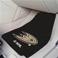 "NHL - Anaheim Ducks 2-pc Carpet Car Mat Set 17""x27"""