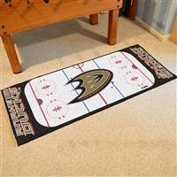 "Anaheim Ducks NHL Rink Runner Mat, 30""x72"""