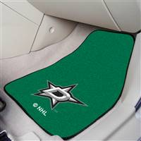 Dallas Stars 2-pc Printed Carpet Car Mat Set