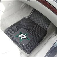 "NHL - Dallas Stars 2-pc Vinyl Car Mat Set 17""x27"""