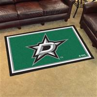 Dallas Stars 4x6 Area Rug